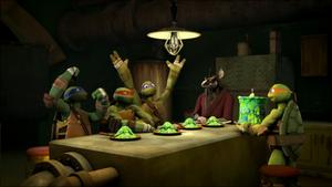 Turtles celebrate Mutation Day