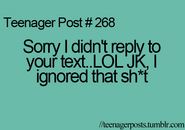 Teenager Post 268