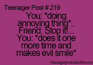 Teenager Post 219