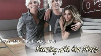 Ross and Riker talk about 'Dancing with the Stars' (Disney 365)