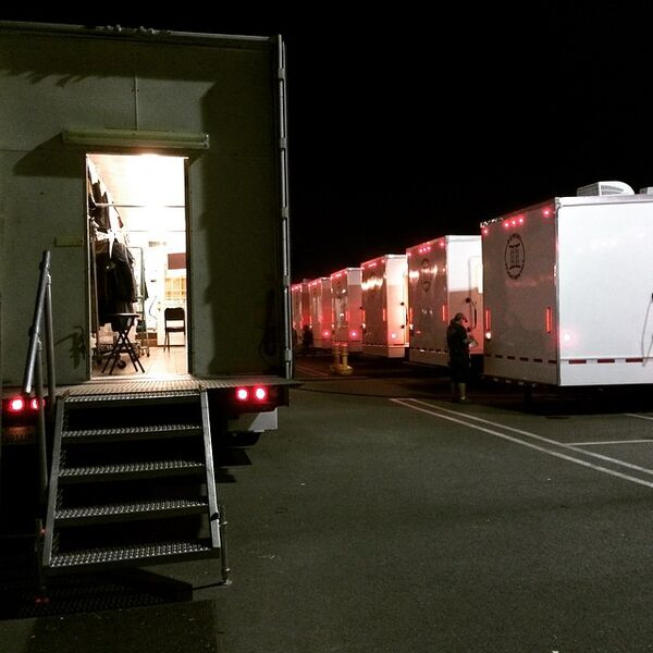 Teen Wolf Season 5 Behind the Scenes First location shoot basecamp 021015