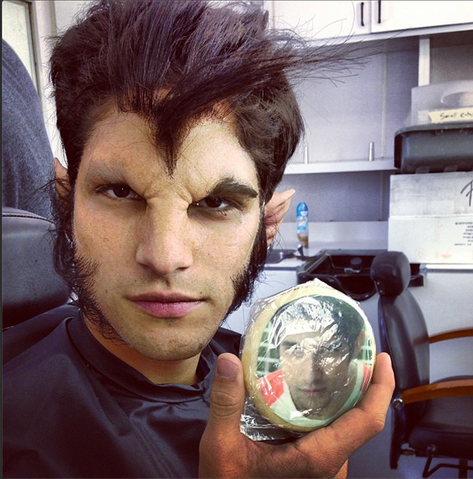 File:Teen Wolf Behind the Scenes Scott Werewolf Makeup Cookie.png