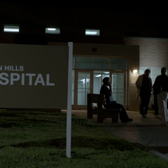 Beacon Hills Hospital Sign