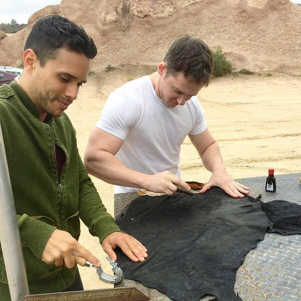 Teen Wolf Season 5 Behind the Scenes Daniel Flores Jeff Davis wardrobe work Vasquez Rocks 091615