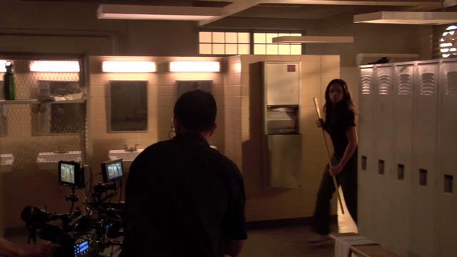 File:Teen Wolf Behind the Scenes Megan Tandy Locker Room Set Northridge Sound Stage.png