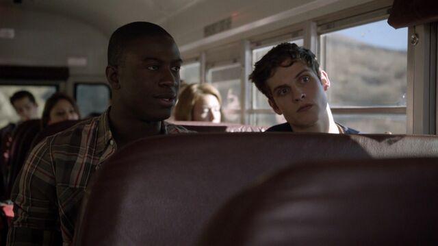 File:Teen Wolf Season 3 Episode 5 Frayed Sinqua Walls and Daniel Sharman Boyd and Isaac on the bus.jpg