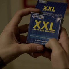 Pro Tip: They're actually about the same size. They just put XXL on the box to make guys feel better about their