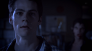 Teen Wolf Season 3 Episode 9 The Girl Who Knew Too Much Dylan O'Brian Stiles worried