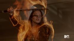 Teen Wolf Season 5 Episode 3 Dreamcatcher Kira aura close-up.png
