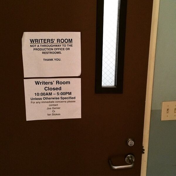 Teen Wolf Season 5 Behind the Scenes Writers room 040815