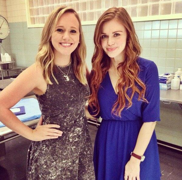 Teen Wolf Season 5 Behind the Scenes Ciara McVey Holland Roden 050615