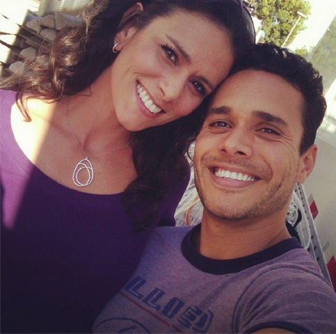 File:Teen Wolf Season 3 Behind the Scenes Melissa Ponzio and Daniel Flores Oct 17 .png