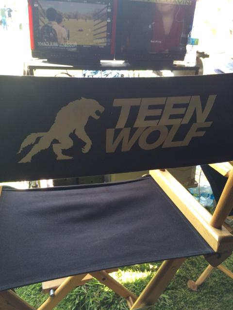 Teen Wolf Season 5 Behind the Scenes monitors Woodley Park 030315