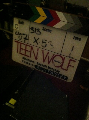File:Teen Wolf Season 3 Behind the Scenes SlateTeen Wolf HQ August 27.png
