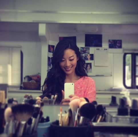File:Teen Wolf Season 3 Behind the Scenes Arden Cho Makeup.png