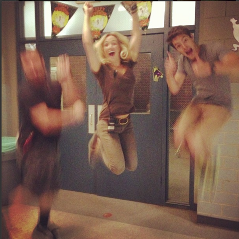 File:Teen Wolf Season 3 Behind the Scenes School Hallway - Halloween Decorations.png