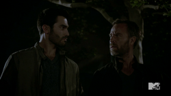 Teen Wolf Season 4 Episode 5 IED Derek and Chris.png