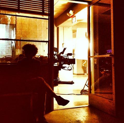 File:Teen Wolf Season 3 Behind the Scenes Actor Troy Hatt at Teen Wolf HQ.png