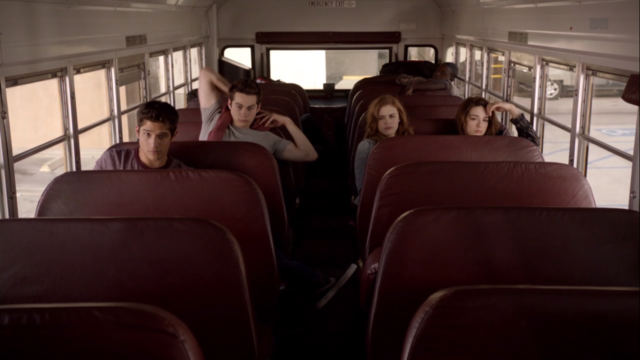 File:Teen Wolf Season 3 Episode 6 Motel California Holland Roden Dylan O'Brien Tyler Posey Crystal Reed Lydia Stiles Scott Allison Morning.png