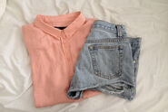 Button-down-shirt-denim-shorts-high-waisted-shorts-hipster-Favim.com-1293111