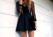 Black-lace-dress-girl-things-things-i-want-Favim.com-1294249