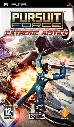 Pursuit Force - Extreme Justice Coverart