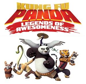 Kung Fu Panda - Legends of Awesomeness logo