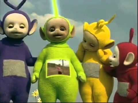 Teletubbies Rockpool