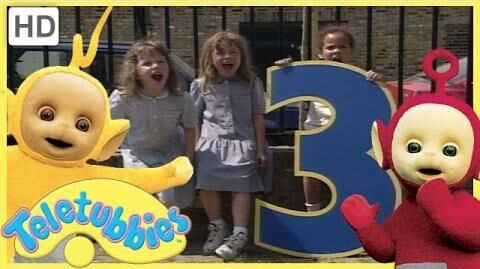 Teletubbies - Numbers 3 (Season 2, Episode 48 Full HD Episode)
