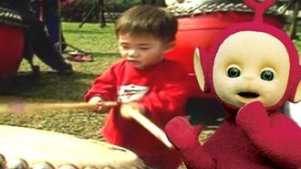 Teletubbies Drumming (Taiwan) 102 Cartoons for Children