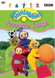 Teletubbies Favourite Things DVD Cover
