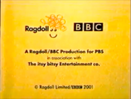 Ragdoll 2001 for PBS Logo