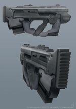 Retconed X-5 Carbine-SMG