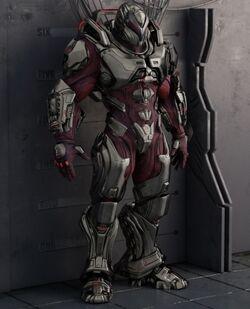 XX-8 Oni Heavy Exoskeleton