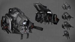 Wraith-class Variable Use Drone