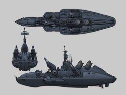 Hitsu Missile Destroyer