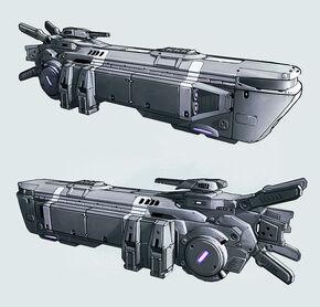 Shuttle Seraph by KaranaK