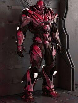 XX-8 Oni Exoskeleton Mark-II