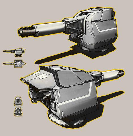 File:Cannon Turret by KaranaK.jpg