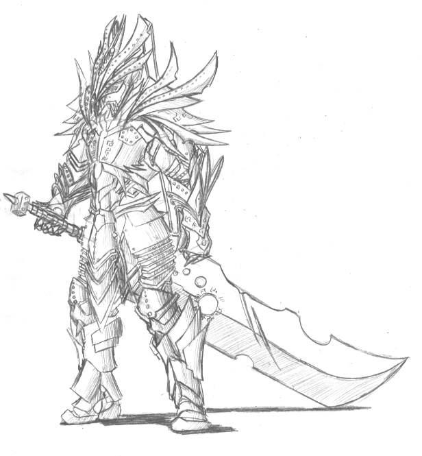 Tracyn's battle armor