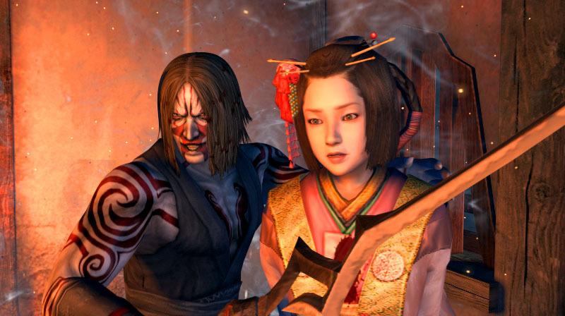 File:TENC4 PSP Screenshot OnikageKiku.jpg