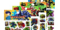 Tenkai Knights Epoxy Stickers