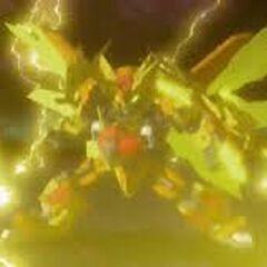 Lydendor Tenkai Lightningstrike Titan Mode