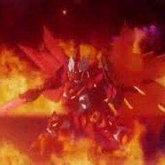 Bravenwolf Tenkai Firestorm Titan Mode