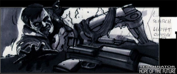 File:Storyboard; T1's infiltrator grasping for his riffle..jpg