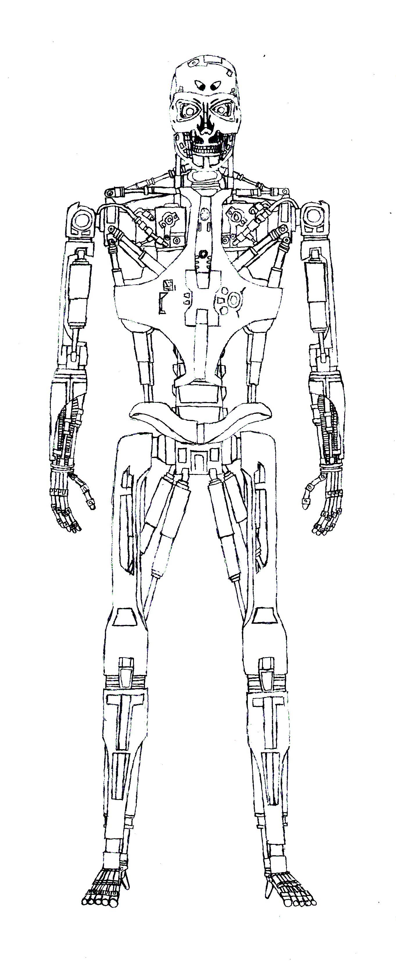 Image  T888 v1 Endoskeletonjpg  Terminator Wiki  FANDOM