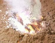 SCC 107 burning hand