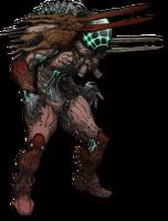 Oxsecian Grunt (Spear)