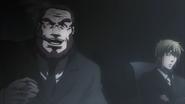 Sylvester blaming Shokichi for the virus