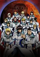 Terra Formars TV Anime Key Visual